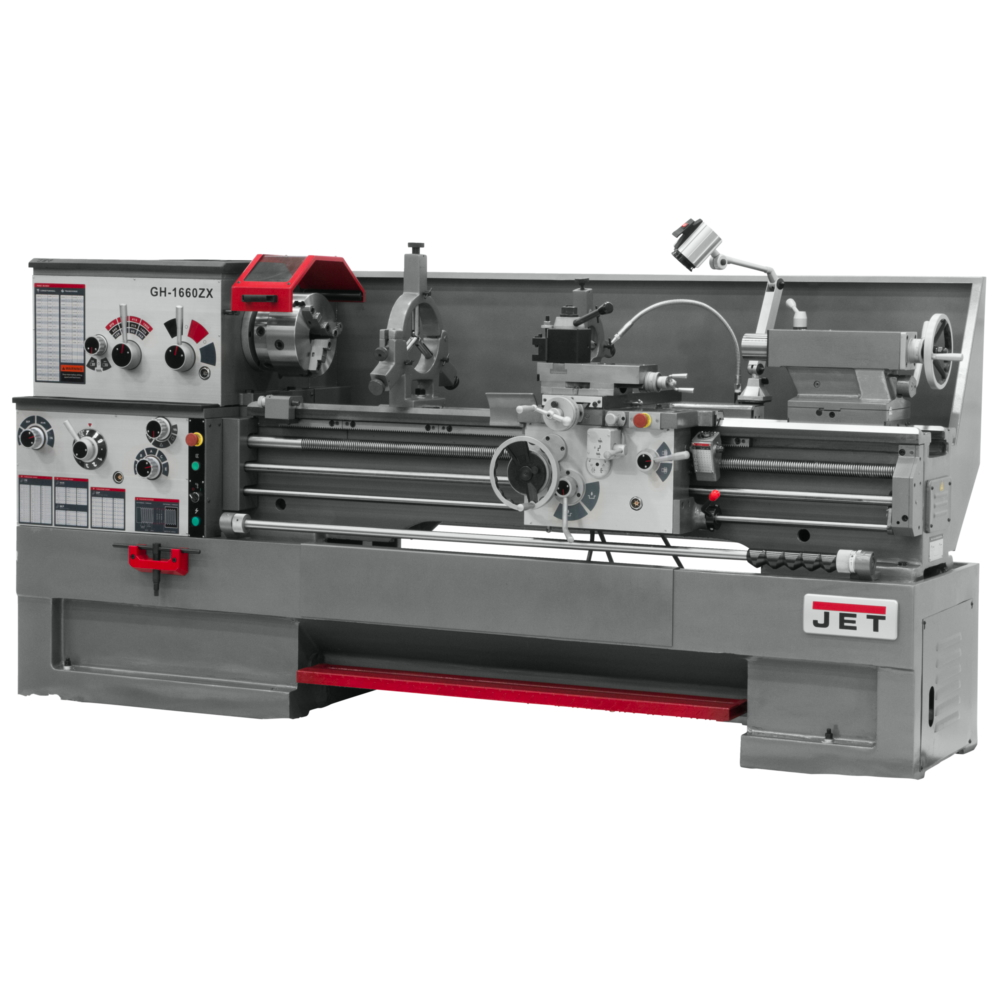 Jet GH-1660ZX Large Spindle Bore Lathe