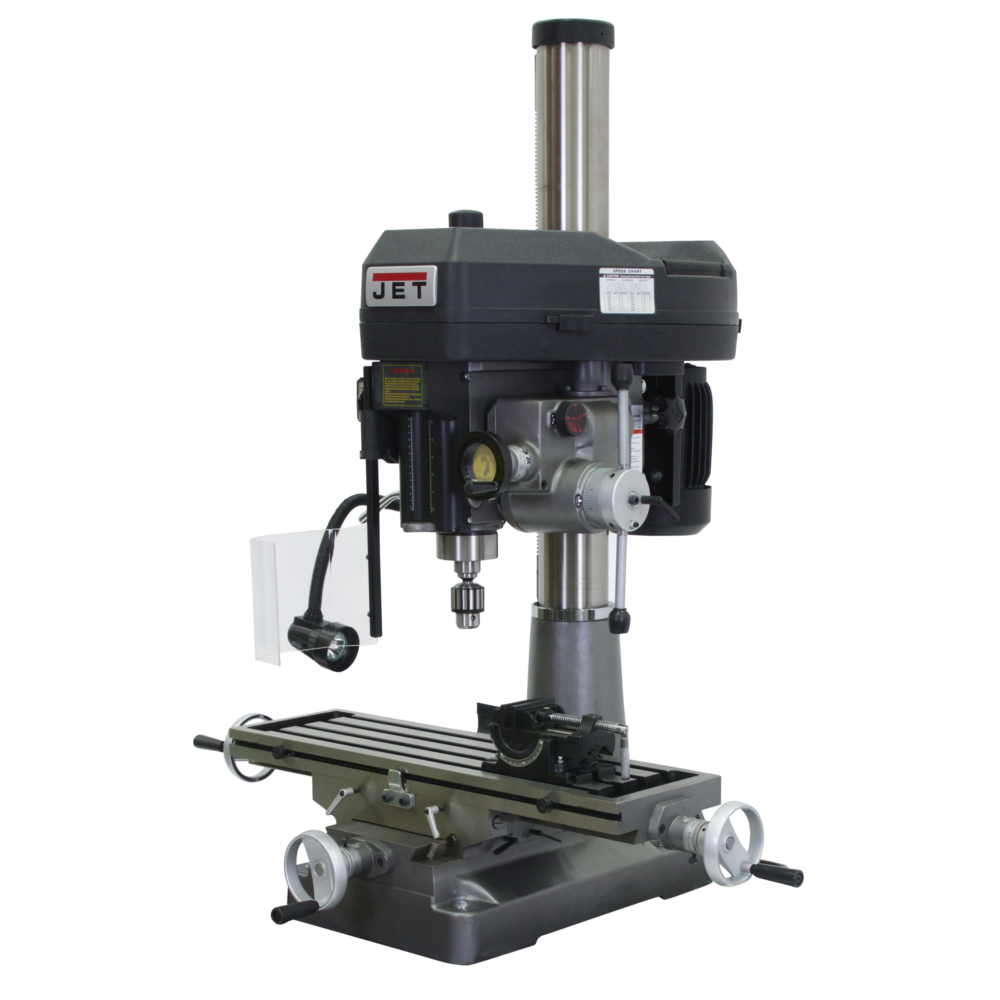 Jet JMD-18PFN Milling/Drilling Machine with Power Down Feed