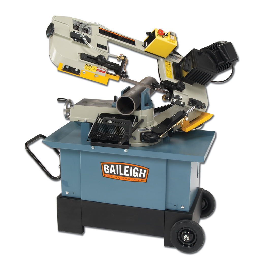 Baileigh BS-712MS Horizontal & Vertical Mitering Bandsaw