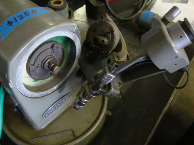 Used Grinders Tool Amp Cutter Christen Lc 21 Drill Grinder